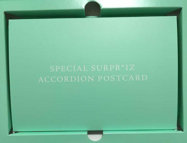 IZ*ONE アコーディオンポストカード